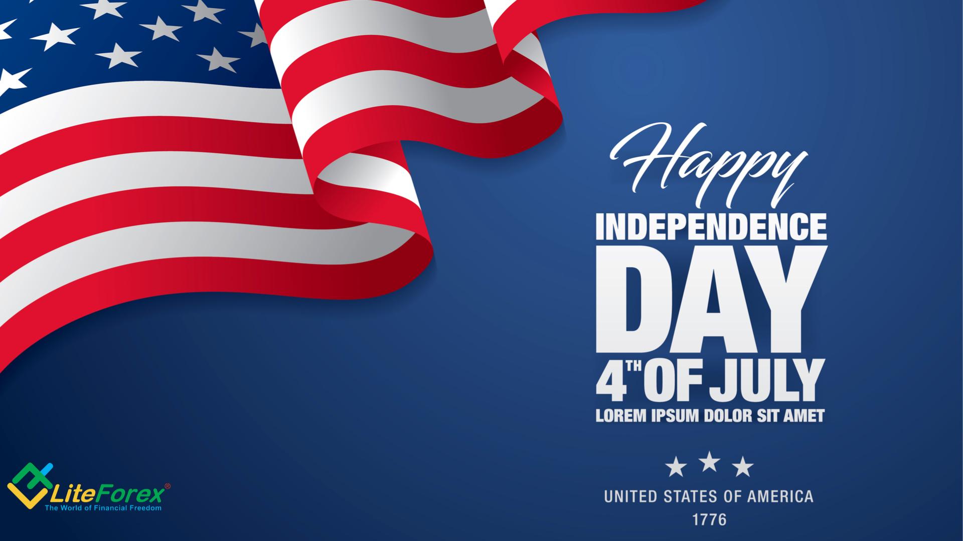 Zmiany w godzinach handlu z powodu Dnia Niepodległości w USA